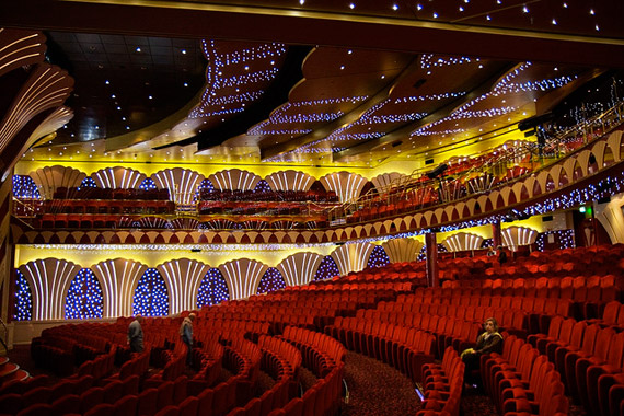 תיאטרון במה באוניה