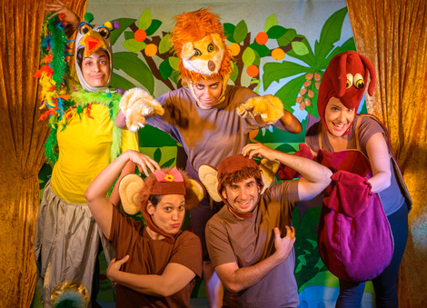 הצגת ילדים כיף כף הקוף